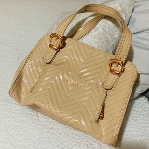 Ted Baker Rose Gold Patent Leather Purse